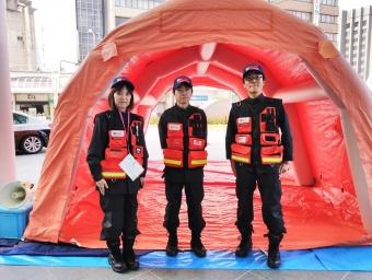 当院の災害派遣チーム(DMAT)